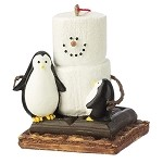 S'more with Penguins Ornament