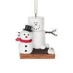 S'more with Snowman Ornament