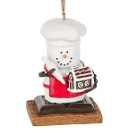 S'more Gingerbread House Ornament