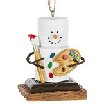 S'more Artist Ornament