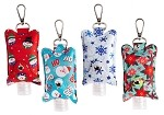 Hand Sanitizer Sleeve Christmas Designs
